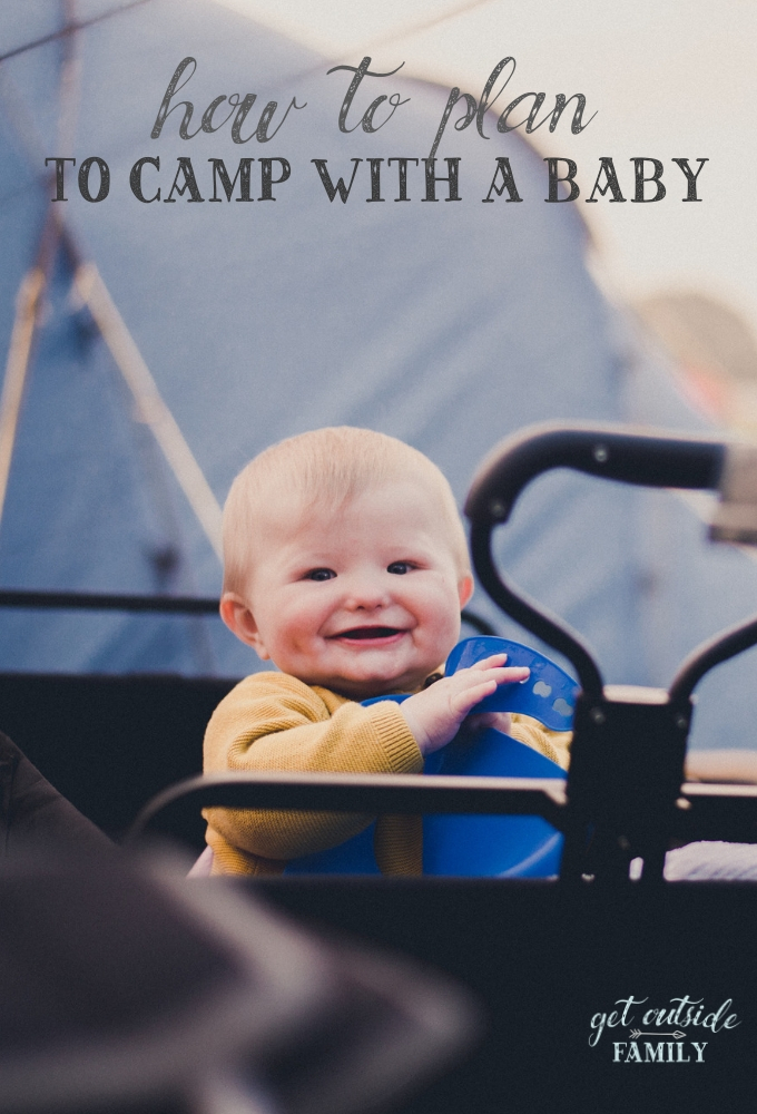 How to plan a family camping trip with a baby